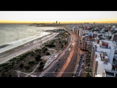 #Montevideo a vista de Drone