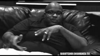 RIGHTEOUS DISORDER TV - CHUBB ROCK TALKING ABOUT HOWIE TEE