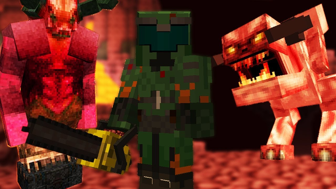 Just some nice @doom in @minecraft for the mc doom mod! Minecraft, But Its DOOM - YouTube