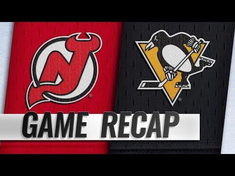 Boyle's natural hat trick powers Devils past Penguins