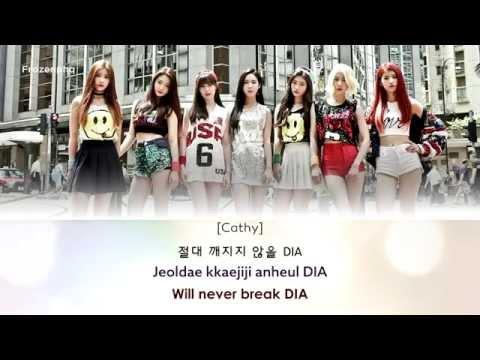 [Lyrics][Eng/Han/Rom] DIA (다이아) – SOMEHOW (왠지)