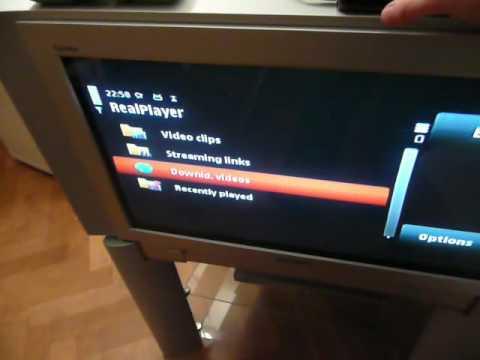 nokia 5800 xm - tv out