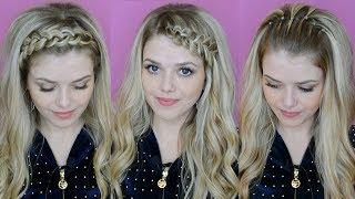11 Причесок на новый год 2019 с распущенными волосами / Как красиво убрать челку
