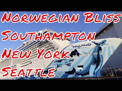5pm et Bruce is Live! Norwegian Sun Departs Seattle after Drydock NCL Bliss off to Southampton