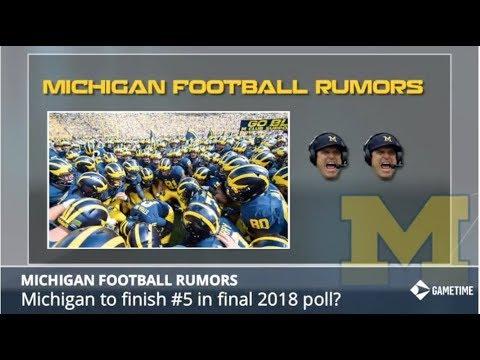 Michigan Football Rumors: Patterson Exploring NFL, Les Miles in Ann Arbor, Michigan vs Ohio St. 2018