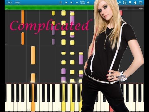 Avril Lavigne - Complicated (Piano Cover)