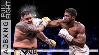 Full Fight | Anthony Joshua Vs Andy Ruiz (2) UD