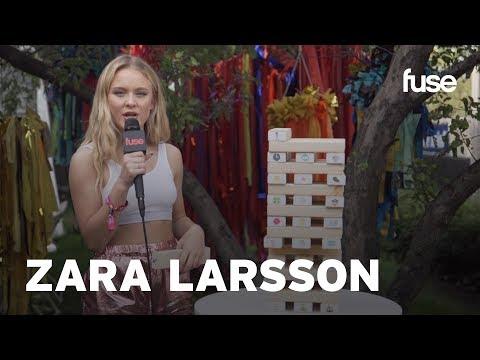 Zara Larsson Talks New Music & Songwriting | Lollapalooza 2017