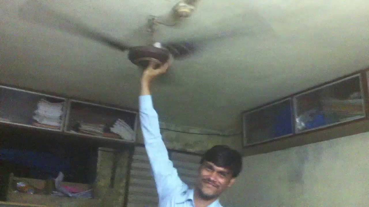 Hand Blend In Fan Ceiling Trick