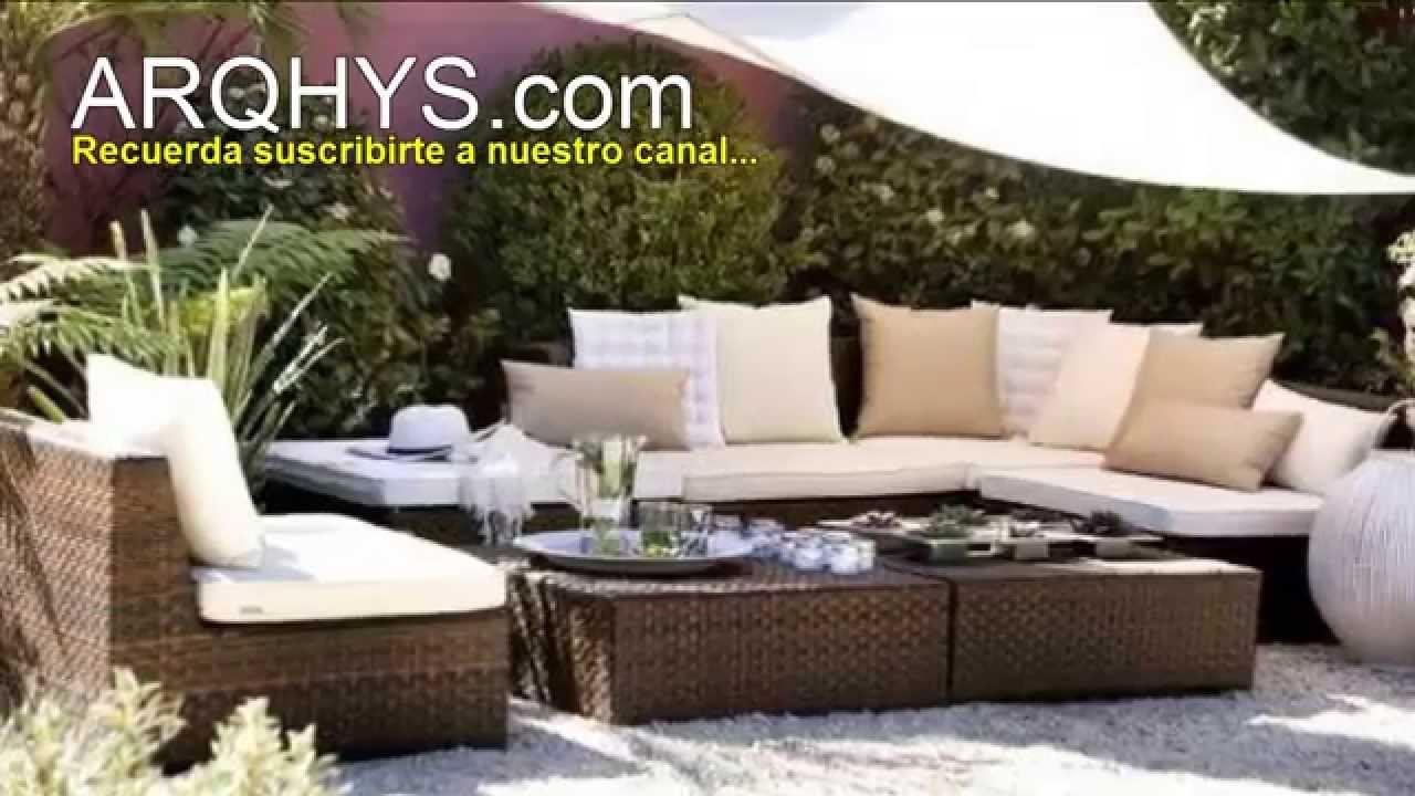 decorar una terraza distribucin de los muebles plantas y estilo decorativo youtube