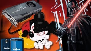 DISNEY KILLS STAR WARS :( GTX 680 MAC EDITION & FACEBOOK PHONE!
