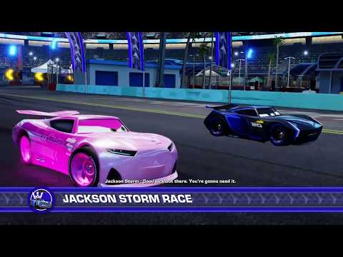 Cars 3 Driven To Win Rich Mixon Vs. Jackson Storm