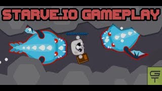 STARVE.IO - BEST GAMEPLAY // DRAGON GEAR + WINTER PEASANT'S TUNIC
