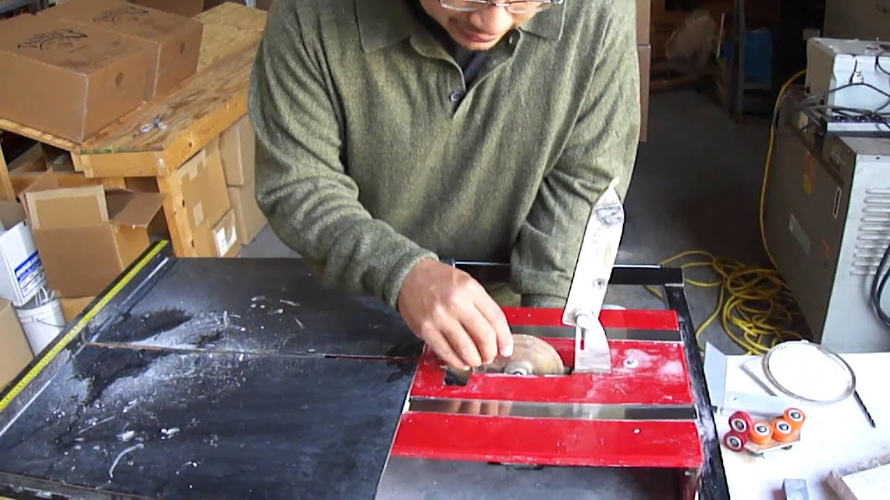 Using The Solid Blade With Apollo Ring Saw Youtube
