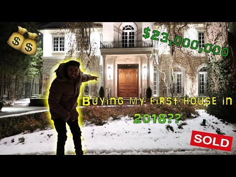 MANSION HUNTING IN TORONTO'S MOST EXPENSIVE NEIGHBORHOOD! ($23,000,000)