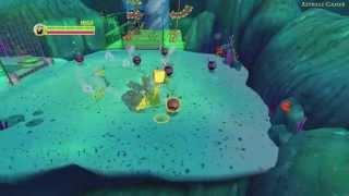 BOB L'éponge : la Vengeance Robotique De Plankton - Walkthrough #01 - Triangle du Hollandais