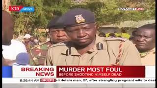 KDF officer kills three, including his auntie, uncle before shooting self in Kamagut, Eldoret