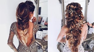 Top Bridal Hairstyles Tutorial | Glam Wedding Hairstyle Compilation 2017
