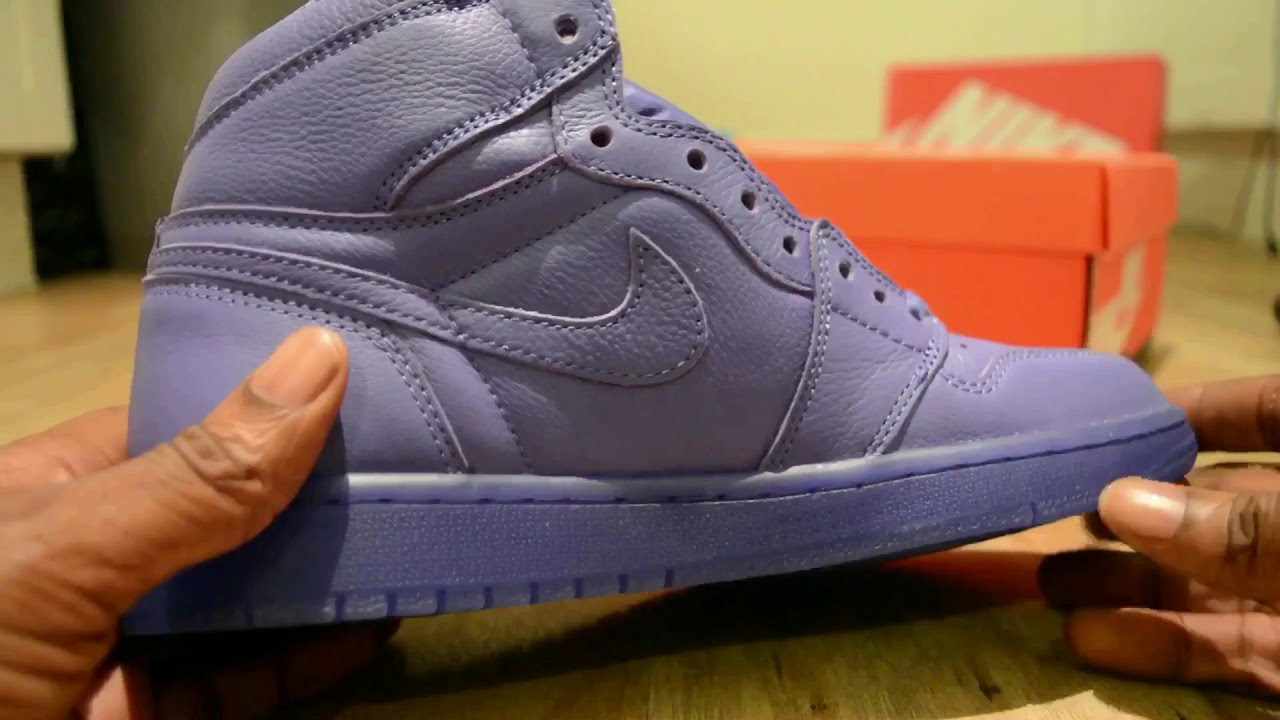 467df6d5182a1e Nike Air Jordan 1 (Gatorade) Grape! - YouTube