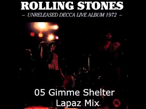 05 Gimme Shelter - The Rolling Stones - Unreleased Decca Live Album 1972
