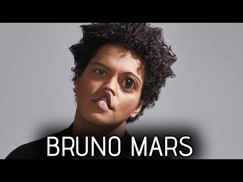 Bruno Mars interview but it's awkward