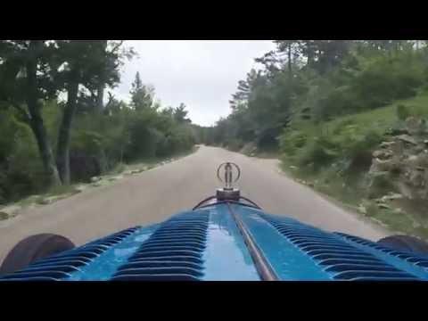 Bugatti GP climbing Mont Ventoux France