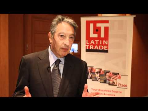 Ricardo Gutierrez at Latin Trade Symposium