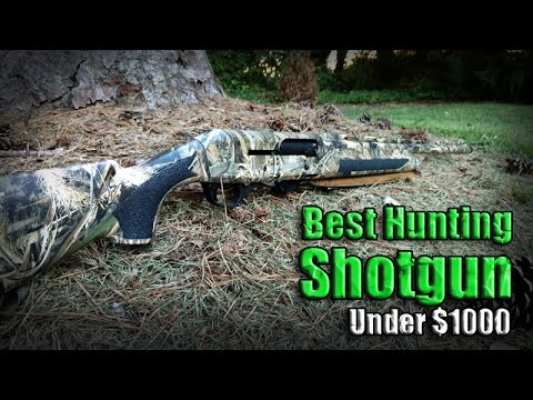 Best Semi-Auto Hunting Shotgun Under $1000 / Stoeger M3500