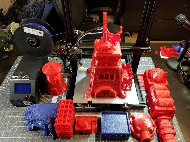 Creality3D CR-10 Mini Review -  Featuring Terrain4Print 3d Printed Terrain