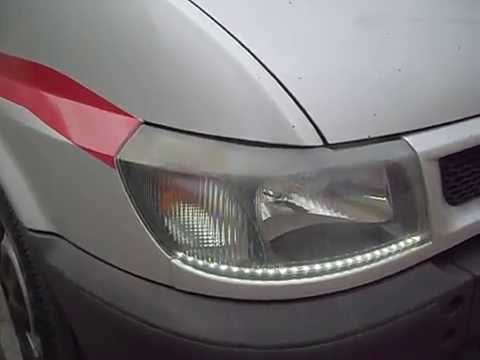 Ford Transit Led Headlights Youtube