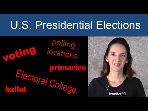 U.S. Presidential Elections - Learn English Vocabulary - Language Notes 22