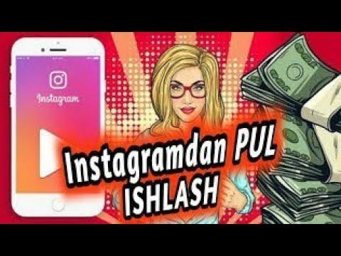 Instagramda Pul Ishlash Kam Odam Bo'lsa Ham