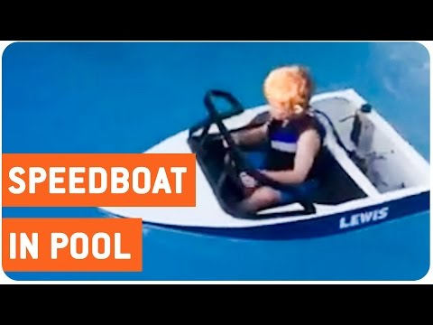 Best Childs Toy Ever  MiniSpeed Boat