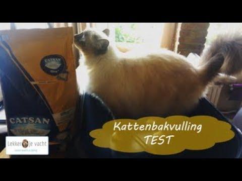 Kattenbakvulling Test | Catsan