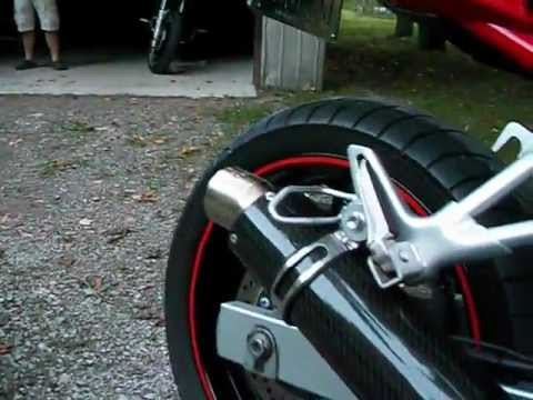 sound suzuki gsf bandit 650 2006 dan moto exhaust muffler youtube. Black Bedroom Furniture Sets. Home Design Ideas