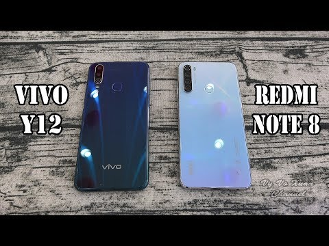 Vivo Y12 Vs Xiaomi Redmi Note 8 | SpeedTest And Camera Comparison