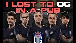Losing to OG in a Pub & What I Learned From It | Pro Dota 2 Guides