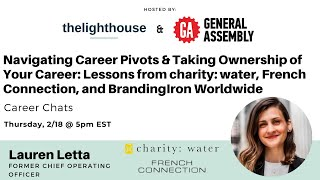 Navigating Career Pivots & Taking Ownership of Your Career