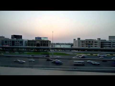 A ride on the Dubai Metro Red Line