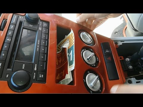 Dodge Caliber Instrument Cluster Removal - Dashboard Disassembly
