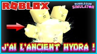 J'AI L'ANCIENT HYDRA ! | Roblox Bubble Gum Simulator