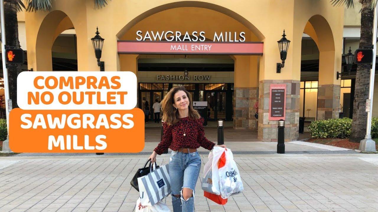 22ad98da7eb COMPRAS NO OUTLET Sawgrass Mills - YouTube