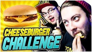 CHEESEBURGER CHALLENGE !  *Kto zje więcej?*
