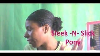 Schlanke N Slick Pony | Wie Erstellen Sie einen Schönen Pony-Auf Natürliche Haar