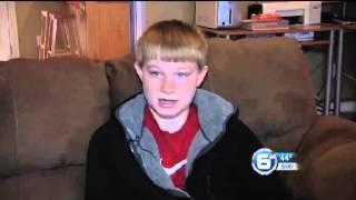 Harriman teenager who fell through ice says he