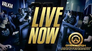 LIVE NOW! From Overwatch Annivesary event! PRIZES! [twitch.tv/valkia]  BONUS STYLOSA AT START