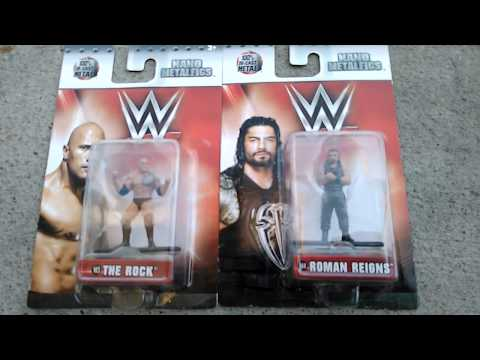 David Mowery toyshow mini wwe metal figures review