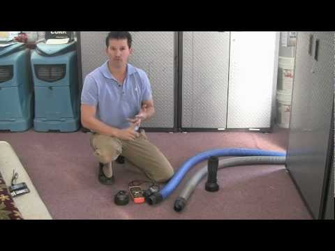 4 To Door Vs 2.5 Hose For Carpet Cleaning (video)