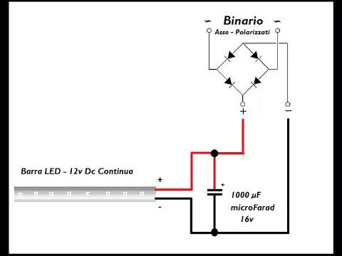 LED Bidirezionale per Quadro Sinottico e Carrozze