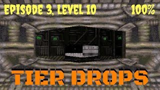 Duke Nukem 3D (100%) Walkthrough (E3L10: Tier Drops)